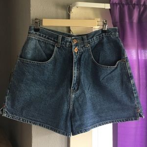 L.A  Blues Vintage High Waisted Jean Shorts